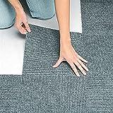 Peel & Stick Berber Carpet Tiles Set of 10 Gray