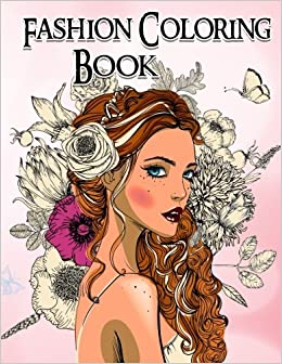 grayscale coloring book coloring book for adults 9781540623348 fashion coloring book books - Fashion Coloring Book