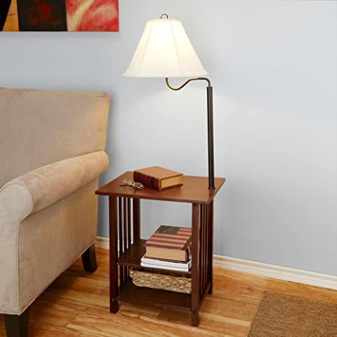 Better Homes and Gardens End Table Floor Lamp - - Amazon.com