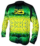 Pelagic Men's Vaportek Long Sleeve Fishing Shirt | UPF 50+ Sun Protection