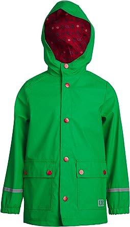 Amazon.com: Urban Republic Boys' Waterproof Vinyl Hooded Rain Jacket with  Snap Closure, Size 18/20, Green: Clothing