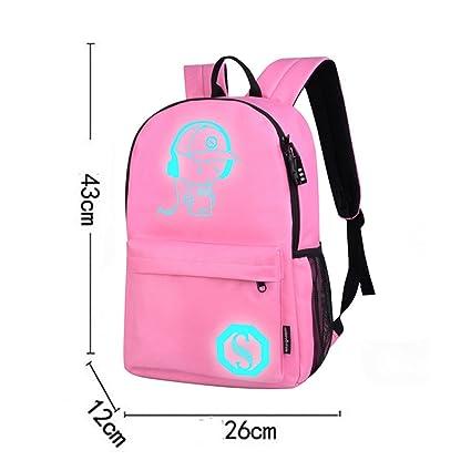 3522e4d3b715 Amazon.com | ❤ Sunbona Schoolbag Unisex Light Preppy Teenagers ...