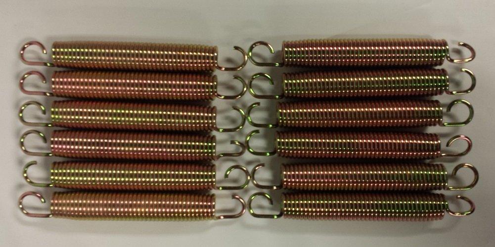 春早割 Skywalker 17cm Trampoline Springs fits 1.3sqm 17cm Trampoline, Trampoline, 12-Pieces 1.3sqm B071R7Y7HB, ゴールド珈琲:b9886a04 --- arianechie.dominiotemporario.com