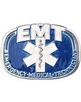 Western Express EMT Enameled Metal Belt Buckle