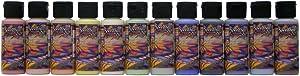 Speedball Underglaze 12-Color Ink Set, Sampler Pack, 2 Ounce Jars