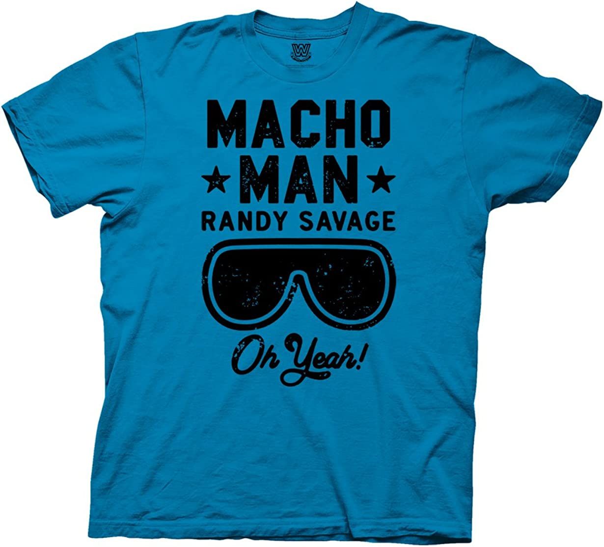 Ripple Junction WWE Macho Man Randy Savage Oh Yeah Adult T-Shirt