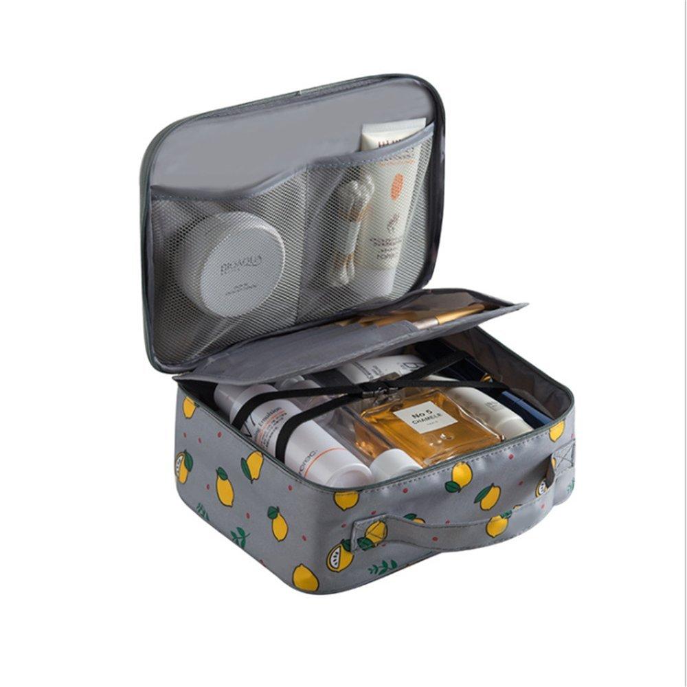 cdcef8121ce9 Amazon.com : Portable Travel Makeup Cosmetic Bags Organizer ...