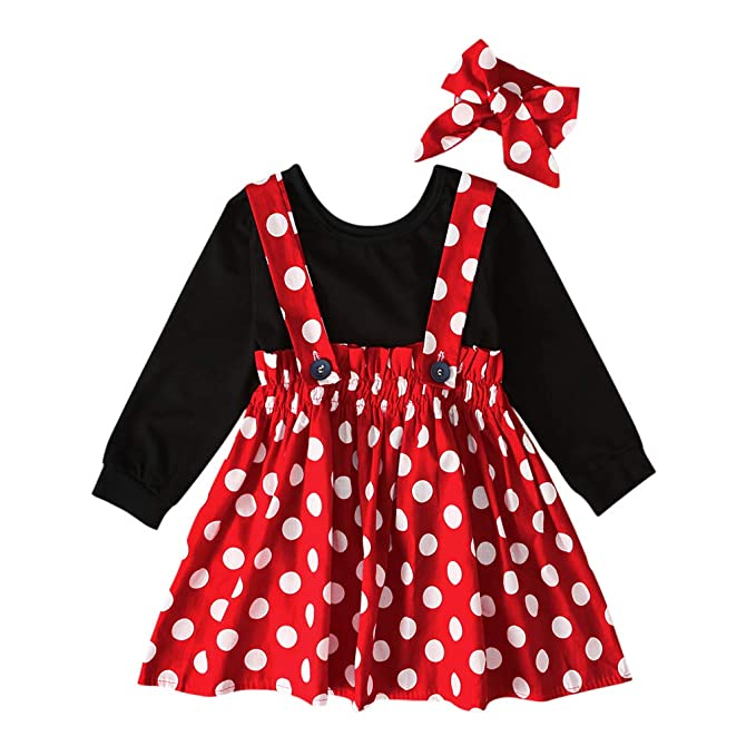 for 0-4 Years Old Baby Outfit,Cute 2Pcs Toddler Baby Girls Short Sleeve Letter Print Tops+Denim Skirts Outfits Clothes Set
