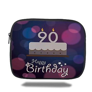 Amazon Laptop Sleeve Case90th Birthday DecorationsDreamy