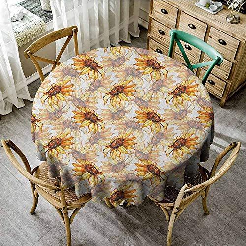 - Rank-T Round Tablecloth Modern 55
