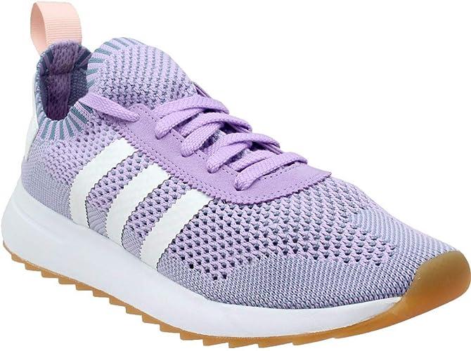 adidas Womens Flashback Primeknit Runner Running Casual Shoes,