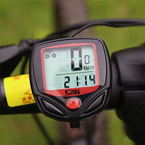 ZHANGJI 🚲Tacómetro de Bicicleta🚲-Ordenador para Bicicleta con ...