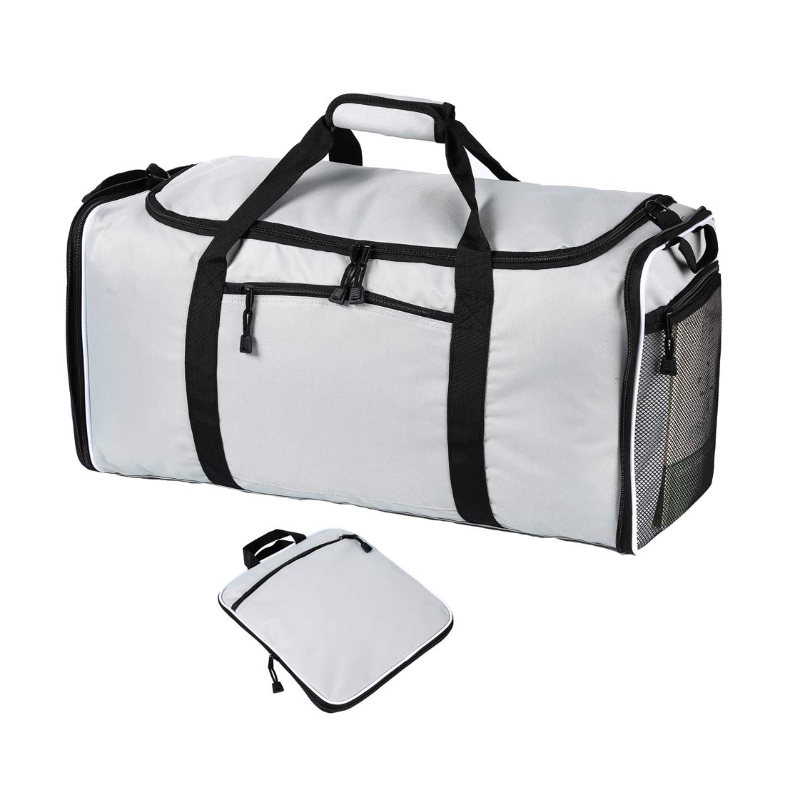 60L Packable Travel Duffle Bag Men Women Large Lightweight Luggage Duffel Bag Lucien Hanna LH-0024