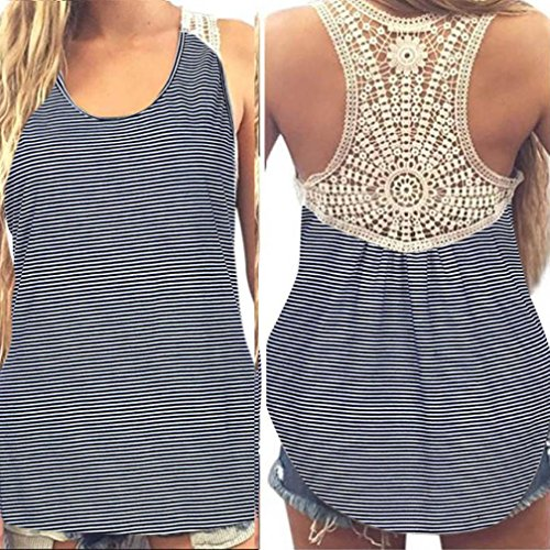 Wintialy Women Summer Lace Vest Top Short Sleeve Blouse Casual Tank Top (Sparkle Lace Corset)