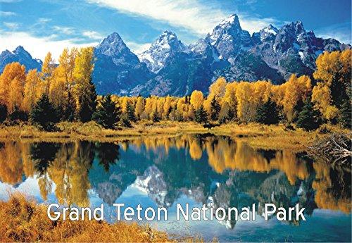 Grand Teton National Park, Wyoming, WY, Souvenir Magnet 2 x 3 Fridge Photo Magnet