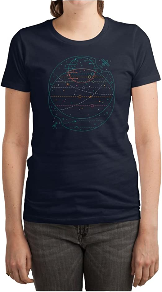 Web Designer Funny Spider On Its Web Womens T-Shirt