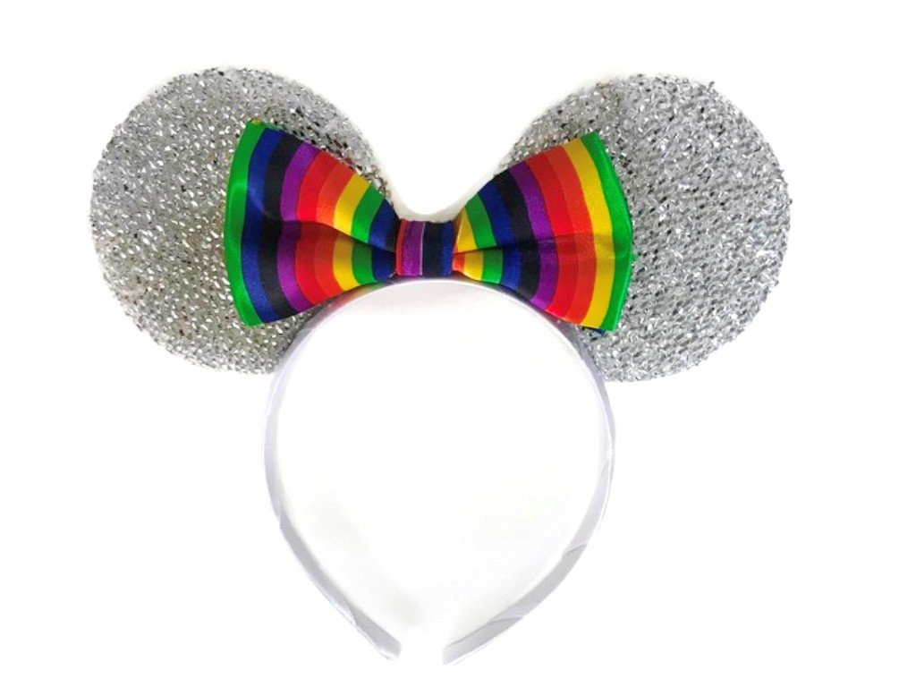 Amazon.com : MeeTHan Mickey Mouse Minnie Mouse Ears Red Bow Black ...