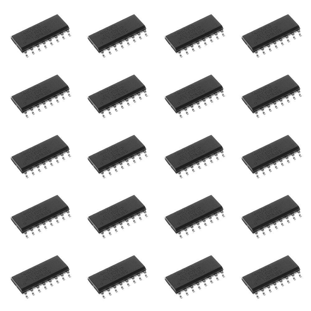 Bridgold 20pcs 74HC595D 74HC595,8-Bit Shift