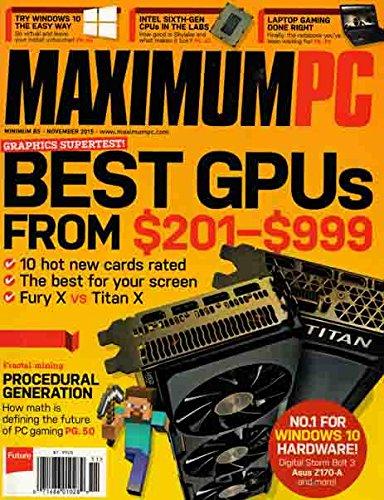 Review Maximum PC ((November 2015)