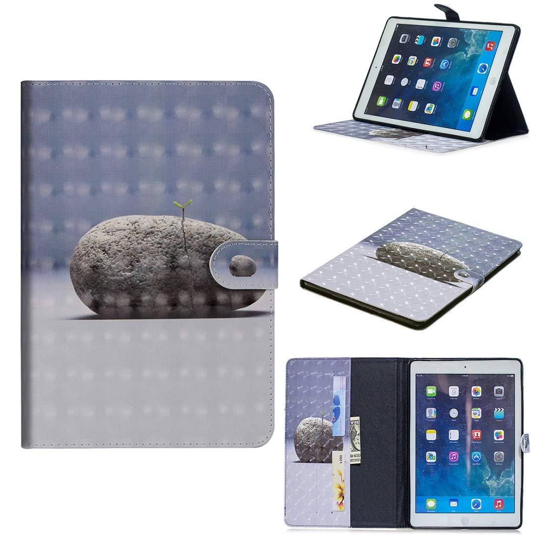 Lyzwn Apple iPad Mini 3/2 / 1 Étui Housse Coque Smart Case Cover Stand, Protection avec Support Multi Angles de Fonction Intelligente Veille/Réveil Automatique