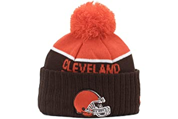 5e50fd3b8d6 Cleveland Browns New Era 2015 NFL Sideline On Field Sport Knit Hat ...