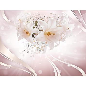 Fototapeten Blumen Lilien 352 X 250 Cm   Vlies Wand Tapete Wohnzimmer  Schlafzimmer Büro Flur Dekoration