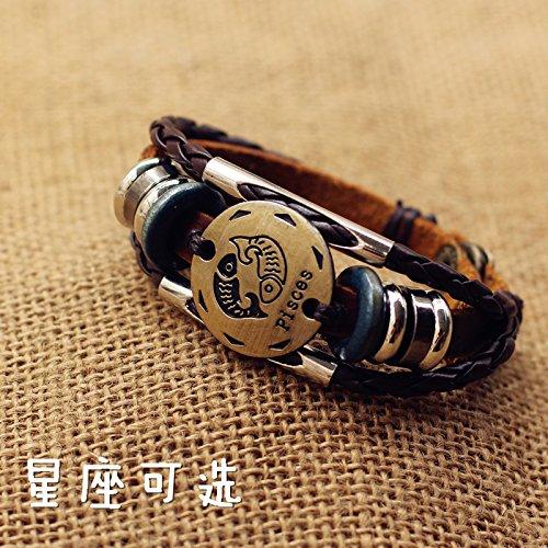 Boys bracelets Korean student Zodiac Bracelet