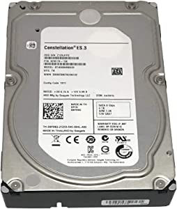 Seagate Constellation ES ST4000NM0033 4TB 7200RPM 128MB Cache SATA 6.0Gb/s 3.5inch Internal Enterprise Hard Drive OEM - w/3 Year Warranty