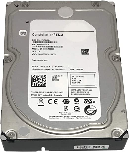 Seagate Constellation ES ST4000NM0033: Amazon.es: Electrónica