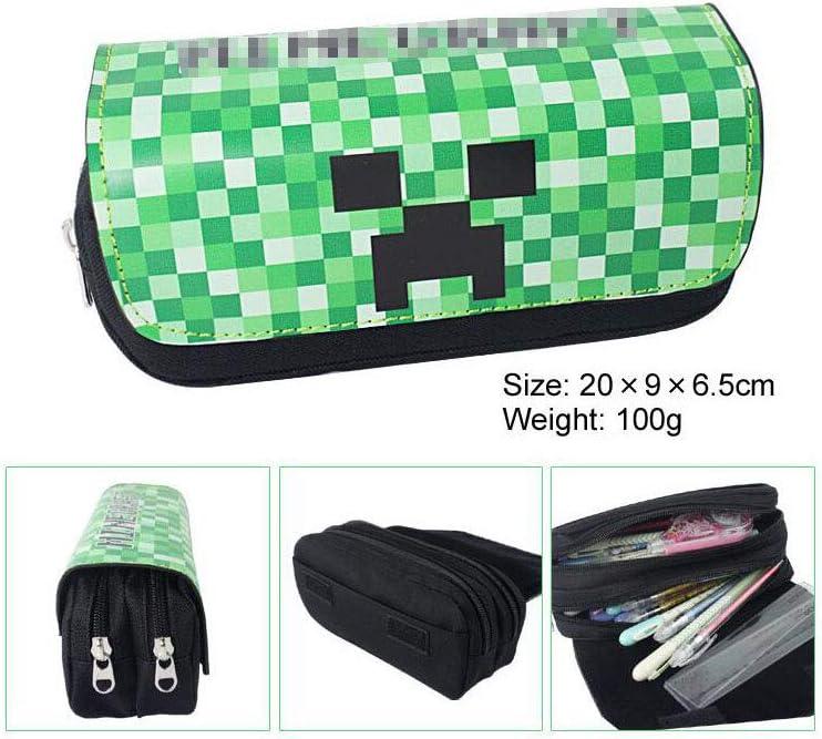 boyigog Pencil Case – Estuche para Lápices Grande Capacidad Estuche Escolar para artículos de papelería Estudiante en Escuela Oficina (Verde 6): Amazon.es: Hogar