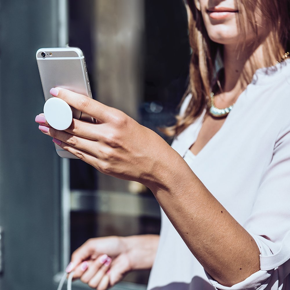 Simply Marble PopSocket - Mobile Phone Accessory - PopSockets Grip and Stand for Phones and Tablets by Unique PopSockets (Image #4)