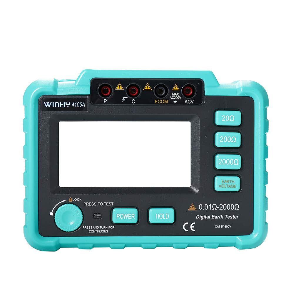 Sunnyys WinAPEX VC4105A Digital Ground Resistance Tester Ground Shake Table