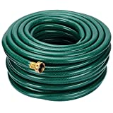 GreenWise ® Garden Water Hose 100FT (Feet) with Solid Brass Connector, Heavy Duty