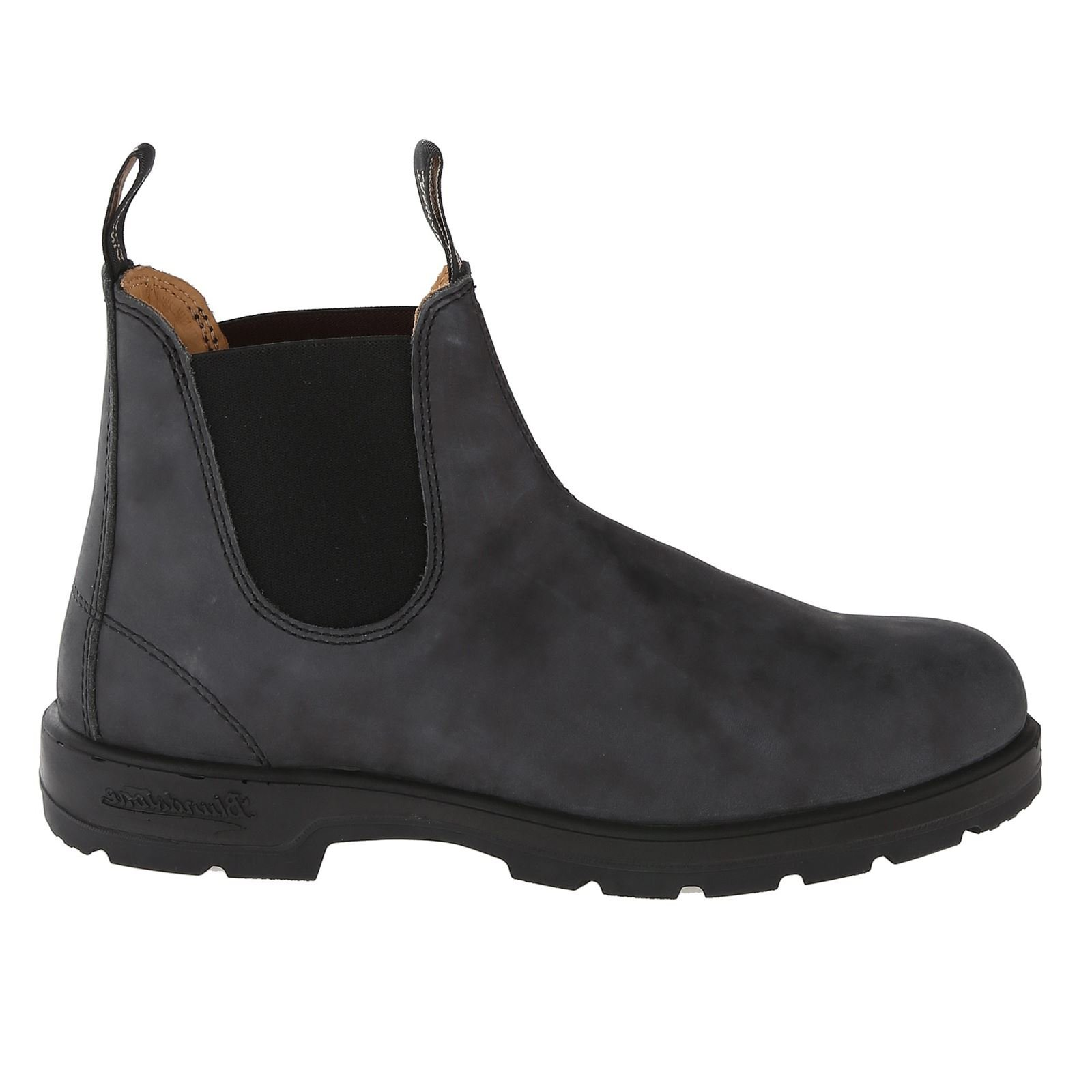Blundstone Mens 587 Black Leather Boots 11 US