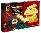 Walkers Shortbread Assorted, 8.8 oz. Boxes (Pack of 6)