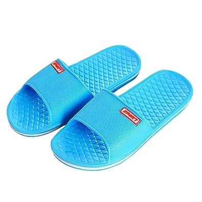 01a5823234b Women Solid Flat Bath Slippers Summer Sandals Indoor   Outdoor Slippers (3