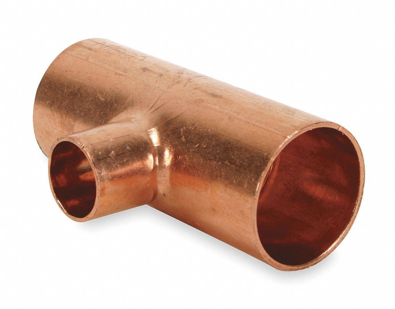 2 1 2 X 2 1 2 X 1 1 4 Nom C Copper Reducing Tee Industrial Pipe Fittings Amazon Com Industrial Scientific