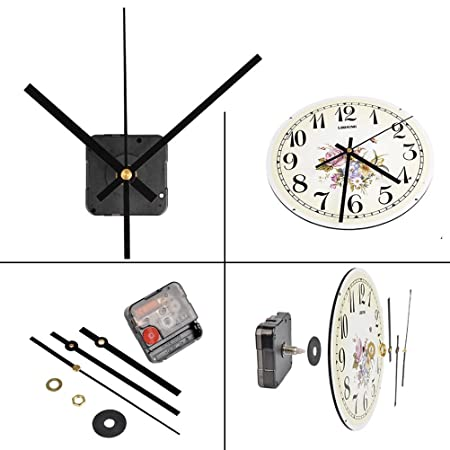 Qlouni Ultra Silent Quartz Clock Movement Clock Mechanisms With