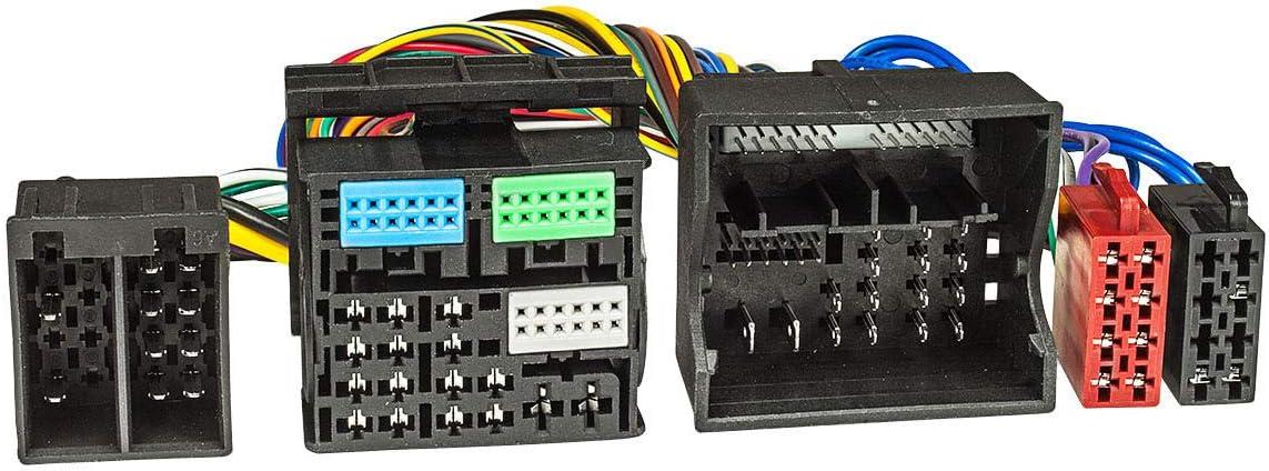Tomzz Audio 7303 001 T Kabel Iso Kompatibel Mit Audi Ab Elektronik