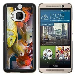 Stuss Case / Funda Carcasa protectora - Colorido pescados de Koi - HTC One M9+ M9 Plus