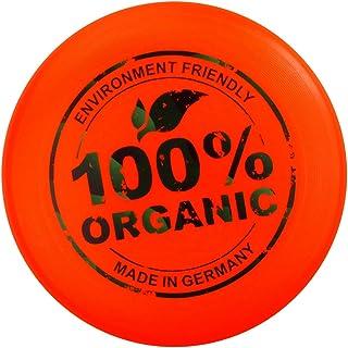 Eurodisc 175 g Ultimate Frisbee Disque volant Matière 98% Bio – Orange vif New Games - Frisbeesport