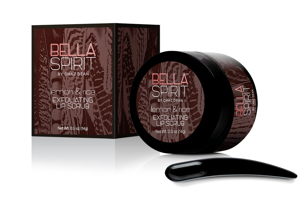 Bella Spirit Lemon & Rice Exfoliating Lip Scrub
