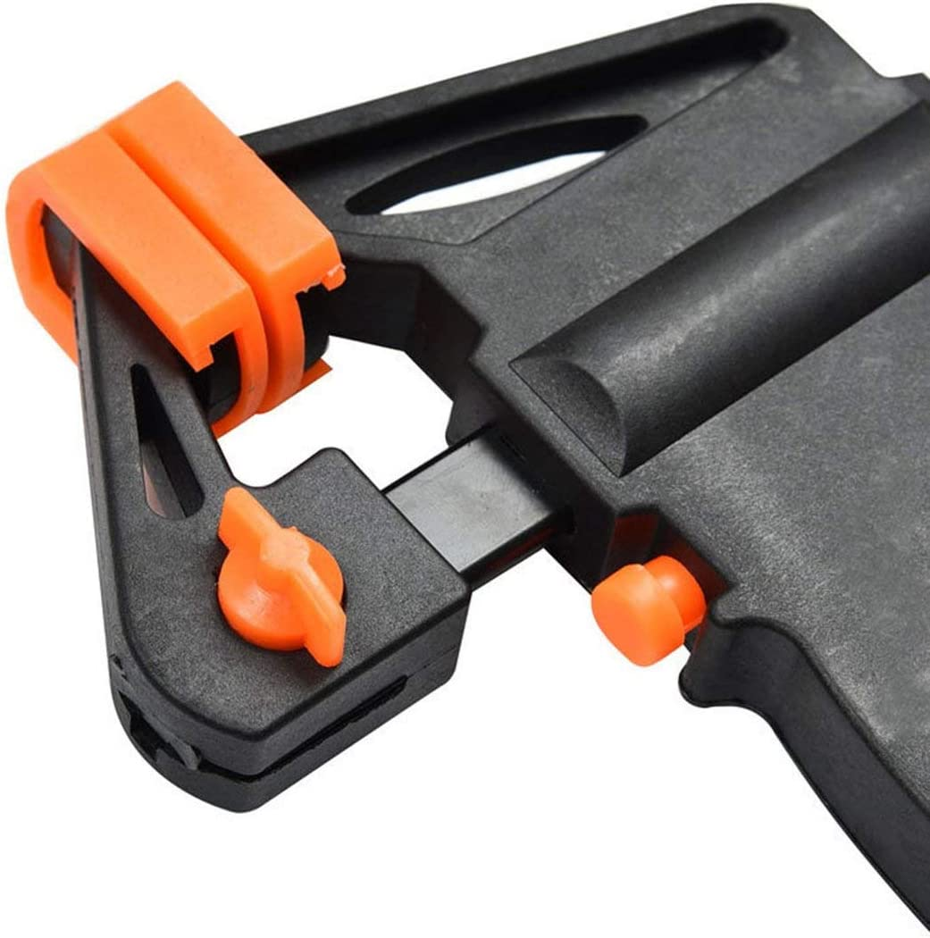 Orange and Black 4 Inch Wooden Work Bar Quick Release Ratchet Clamp Type F Clip Hand Tool Gadget DIY