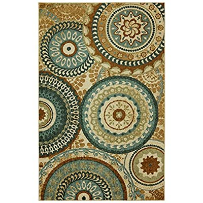 Mohawk Home Strata Forest Suzani Indoor Area Rug