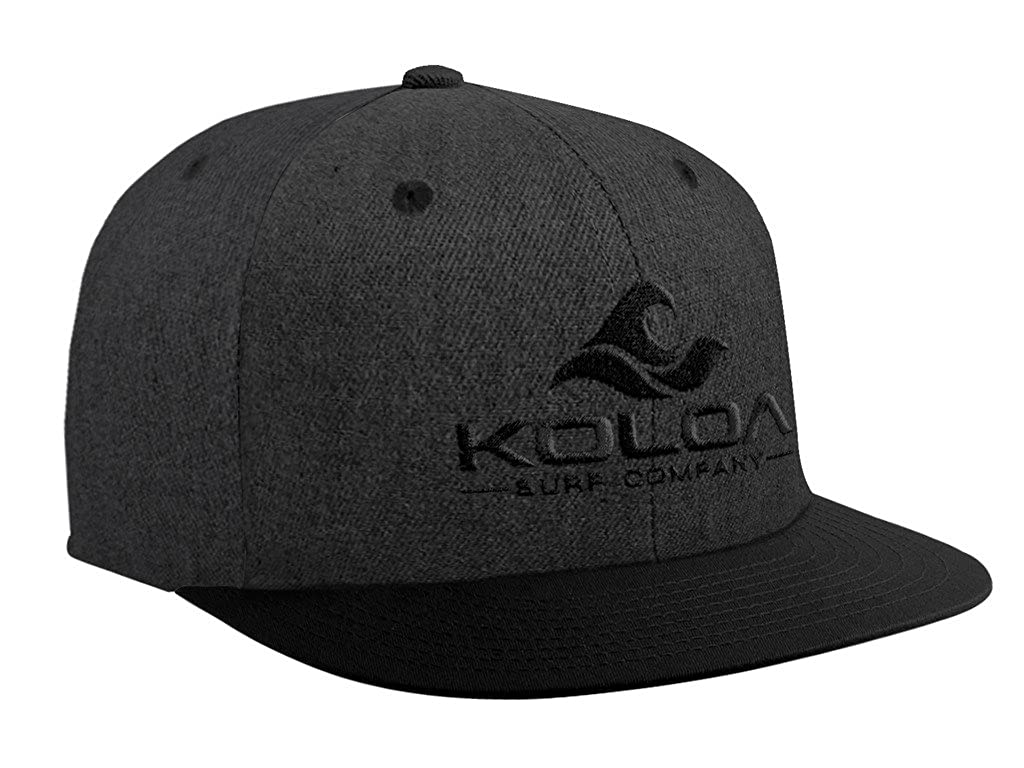 Joe s USA Koloa Surf Classic Snapback Hats with Embroidered Logo in ... e29c4dbf9391