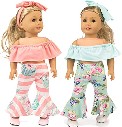 "My Life As Clothing Accessories Set Fits Most 18"" Dolls 8 Pc Set"