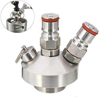Vobor Mini-Fass-Bier-Spender, Edelstahl-Bier-Speer-Schnellverbinder für Hausbrau-Markierung Mini-Fass-Spender