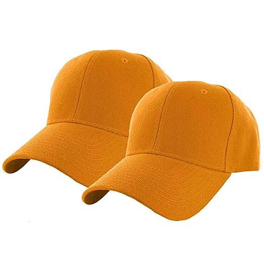 FiedFikt 2 Gorras de béisbol Unisex, Ajustables, de algodón, Color ...