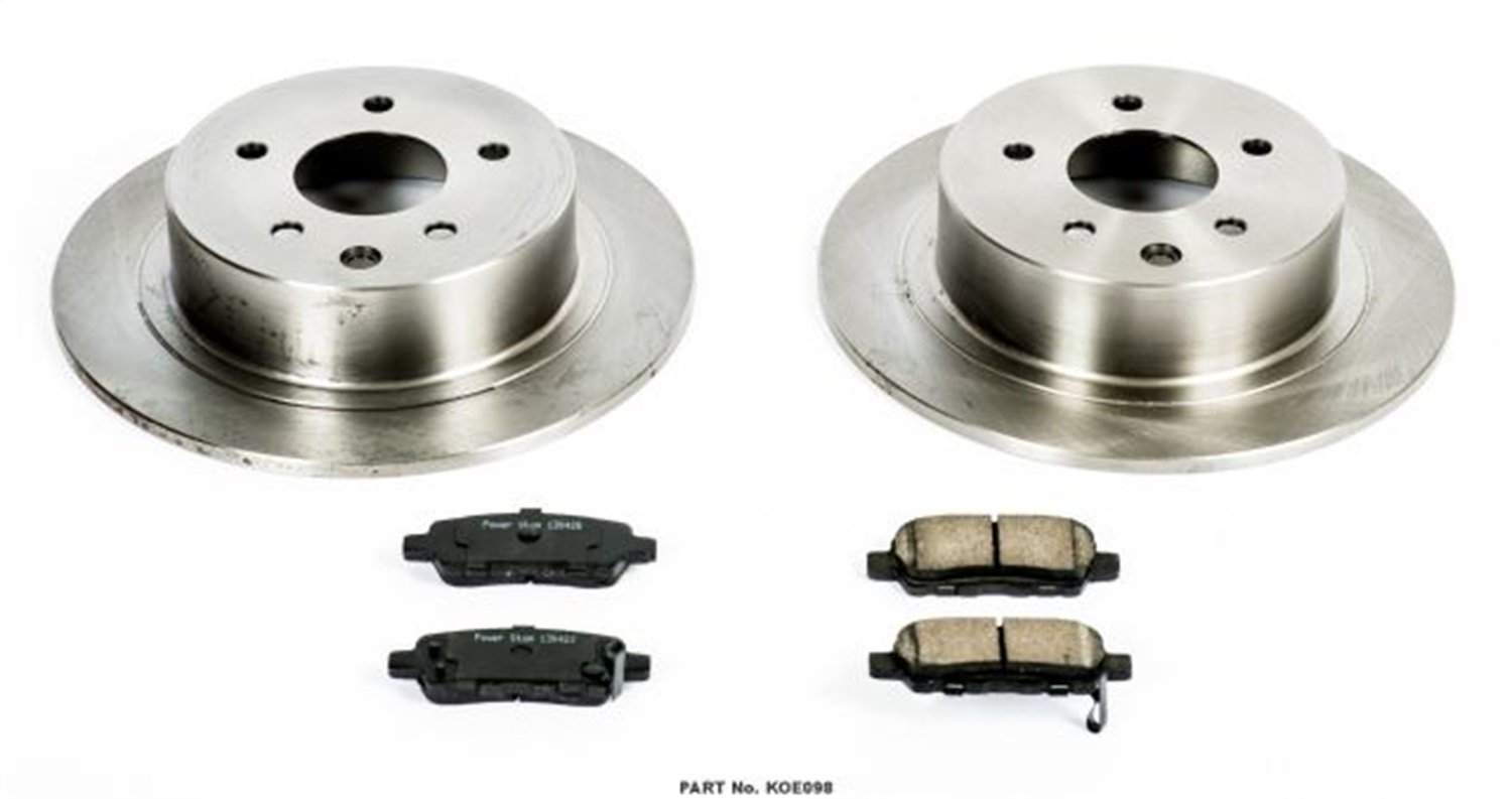 Autospecialty KOE098 1-Click OE Replacement Brake Kit by POWERSTOP