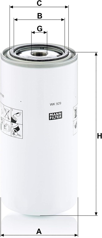 Mann Filter Wk929x Kraftstofffilter Auto